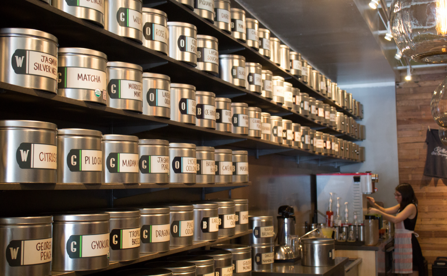 TeBella Tea Wall