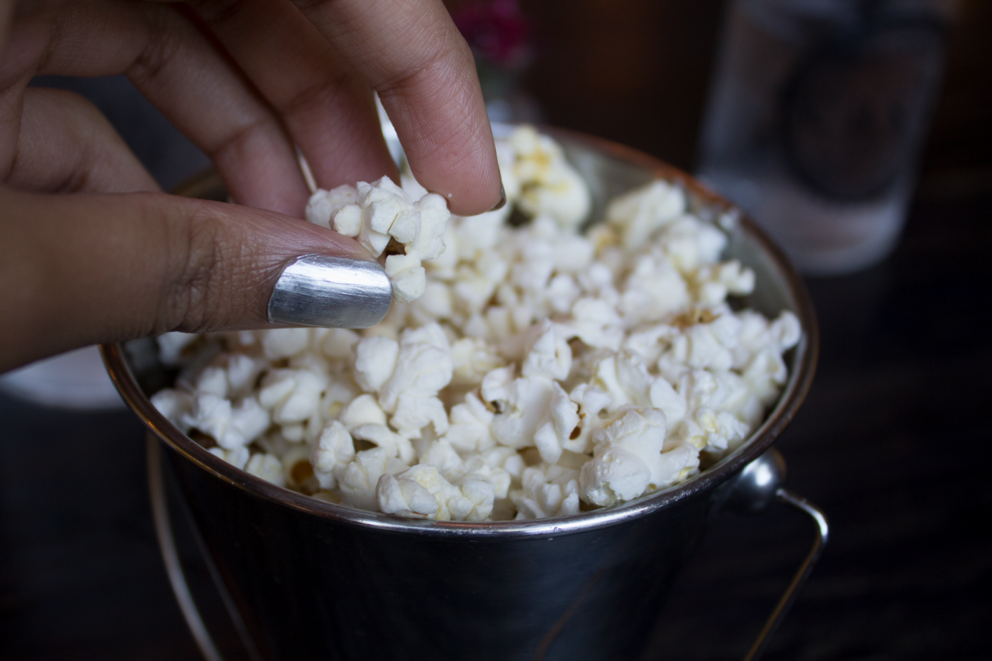 Seasoned Honey Popcorn